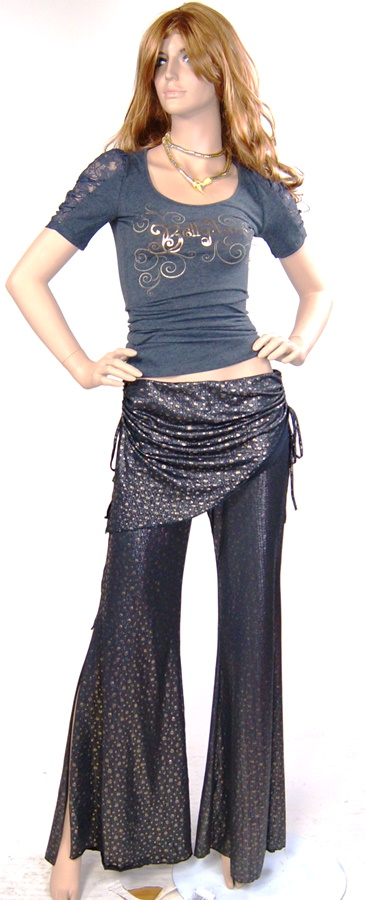 PNT-02 Style Tribal Pants in Gold